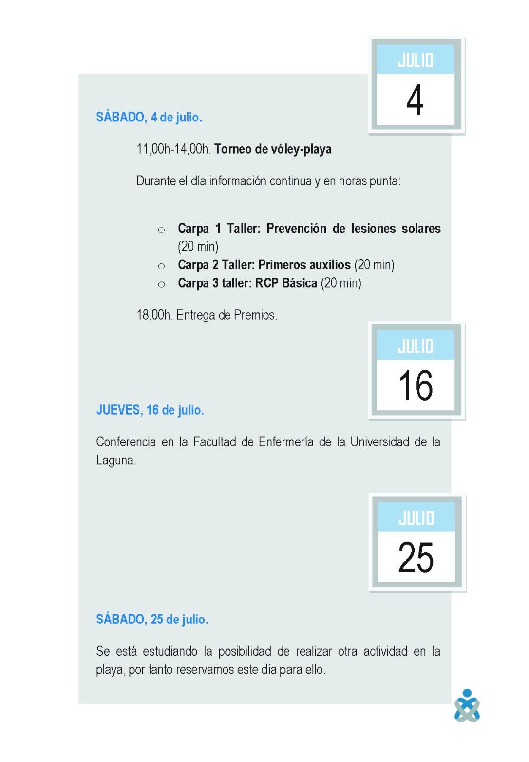 PROGRAMA GENREAL DE ACTIVIDADES 45
